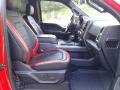 Sport Special Edition Black/Red Front Seat Photo for 2020 Ford F150 #139856015