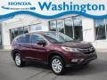 2016 Basque Red Pearl II Honda CR-V EX AWD #139848511
