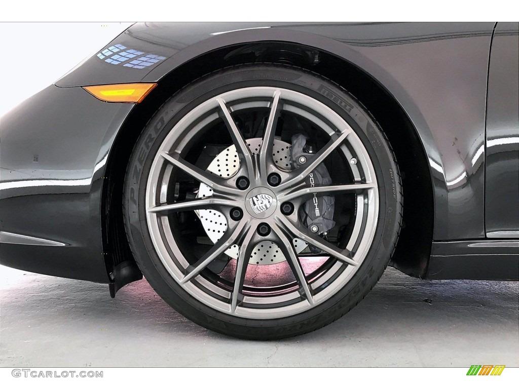 2018 Porsche 911 Carrera T Coupe Wheel Photos