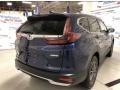 2020 Obsidian Blue Pearl Honda CR-V EX-L AWD  photo #4