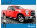 2017 Race Red Ford F150 XL SuperCab 4x4 #139899736