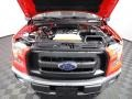 2017 Race Red Ford F150 XL SuperCab 4x4  photo #5