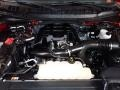 2017 Race Red Ford F150 XL SuperCab 4x4  photo #6