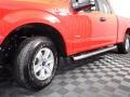 2017 Race Red Ford F150 XL SuperCab 4x4  photo #8