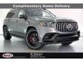 Selenite Gray Metallic 2021 Mercedes-Benz GLS 63 AMG 4Matic