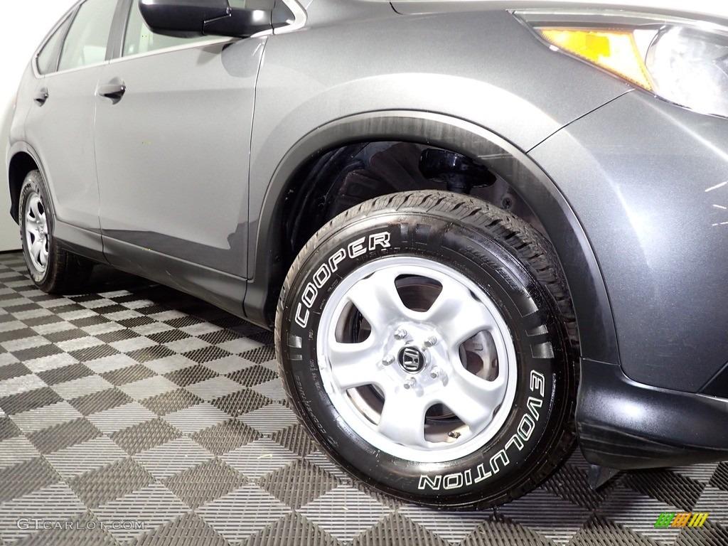 2012 CR-V LX - Polished Metal Metallic / Black photo #3