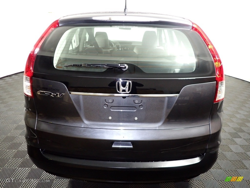 2012 CR-V LX - Polished Metal Metallic / Black photo #11