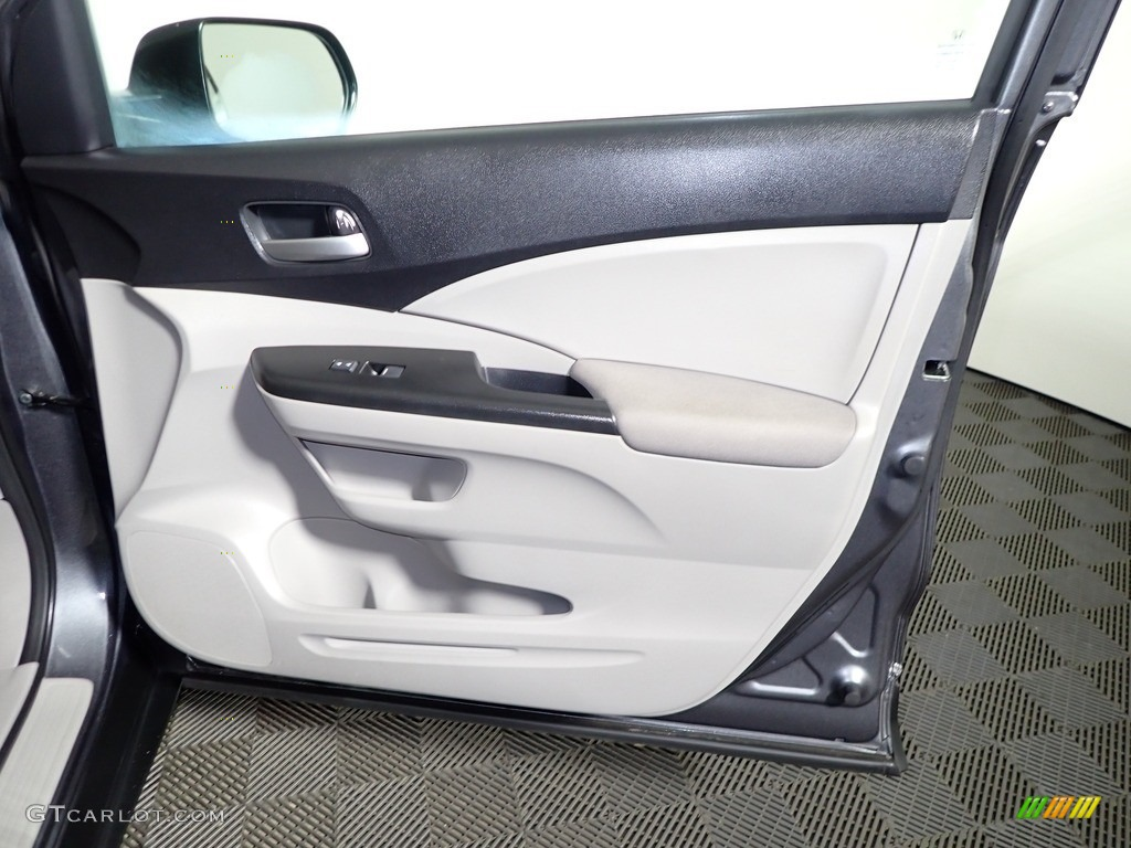 2012 CR-V LX - Polished Metal Metallic / Black photo #25