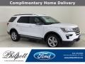 2018 Oxford White Ford Explorer XLT #139909430