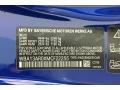 2021 4 Series M440i xDrive Coupe Portimao Blue Metallic Color Code C31