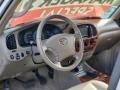 2005 Toyota Tundra Taupe Interior Steering Wheel Photo