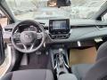 Dashboard of 2021 Corolla SE
