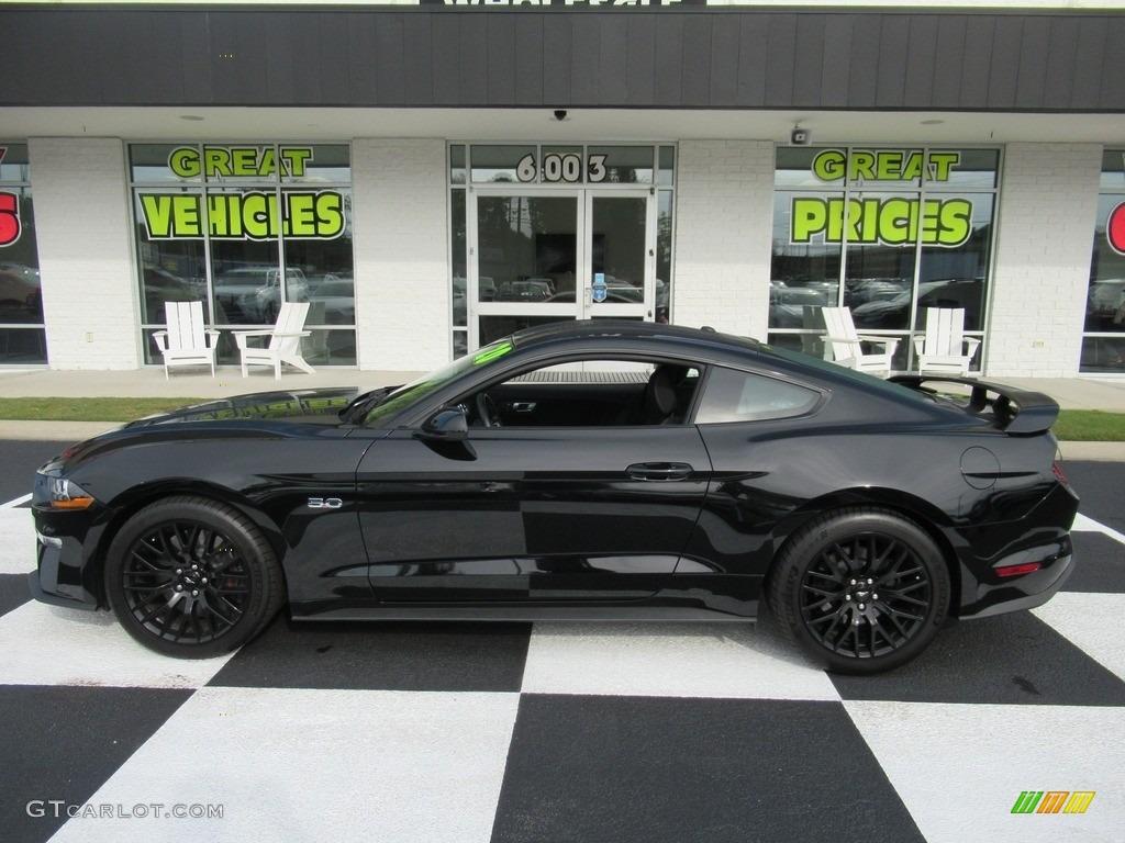 2020 Mustang GT Fastback - Shadow Black / Ebony photo #1