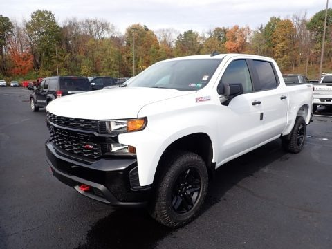 2021 Chevrolet Silverado 1500 Custom Trail Boss Crew Cab 4x4 Data, Info and Specs