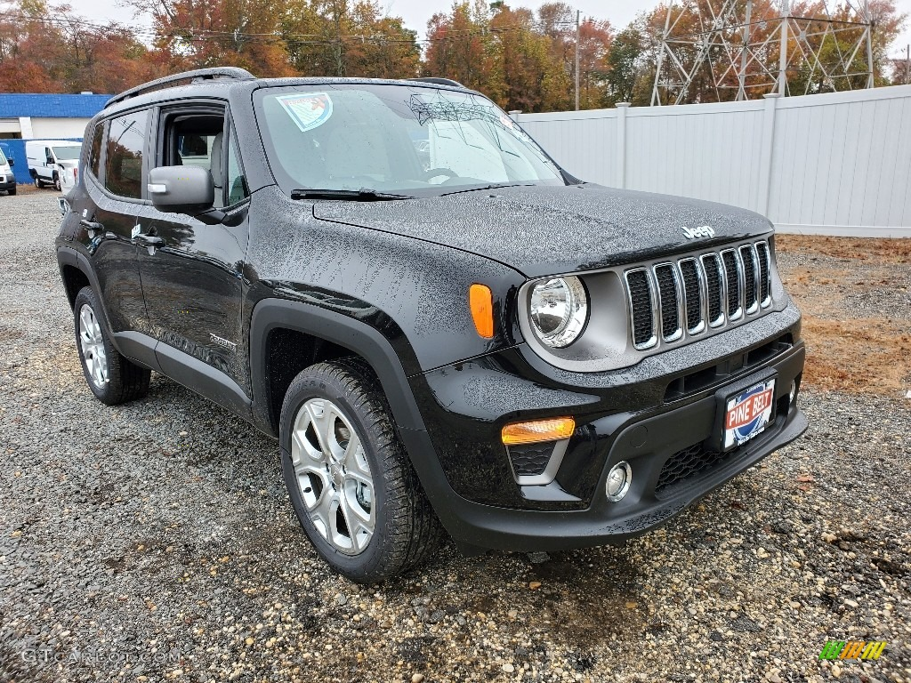 2020 Renegade Limited 4x4 - Black / Black photo #1