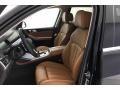 2021 X7 xDrive40i Cognac Interior