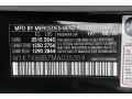 2021 AMG GT 53 Obsidian Black Metallic Color Code 197