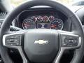 Jet Black Steering Wheel Photo for 2021 Chevrolet Silverado 1500 #139999622