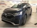 2020 Crystal Black Pearl Honda CR-V EX-L AWD  photo #1