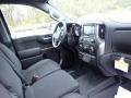 Jet Black Dashboard Photo for 2021 Chevrolet Silverado 1500 #140001105