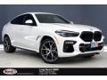 Alpine White 2021 BMW X6 xDrive50i
