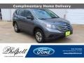 2014 Polished Metal Metallic Honda CR-V LX #140028095