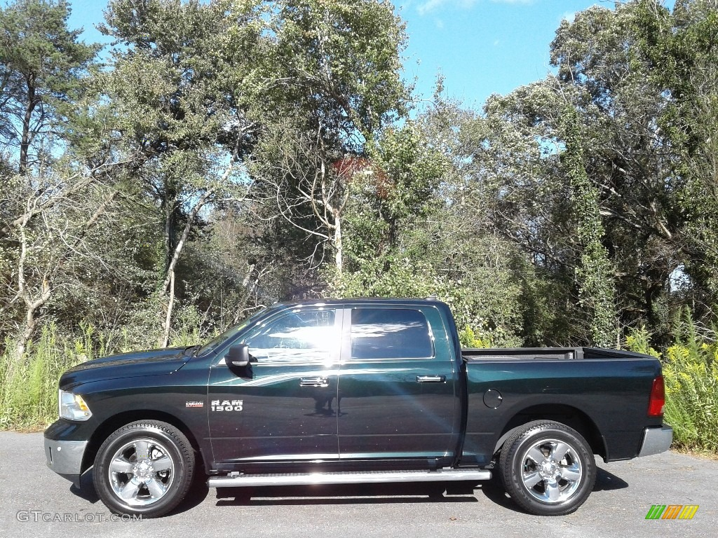 Black Forest Green Pearl Ram 1500