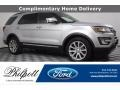 2016 Ingot Silver Metallic Ford Explorer Limited 4WD  photo #1
