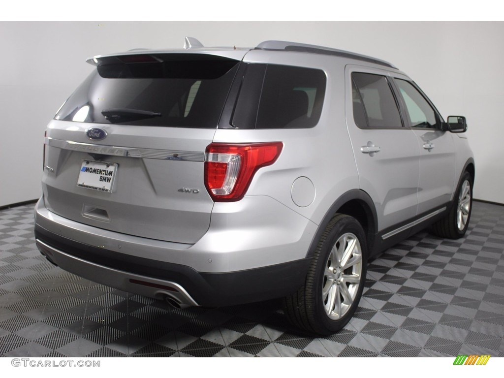 2016 Explorer Limited 4WD - Ingot Silver Metallic / Ebony Black photo #7