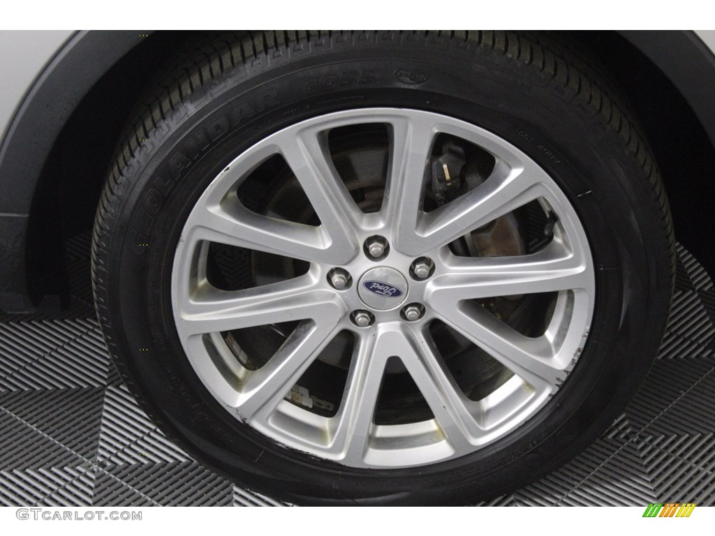 2016 Explorer Limited 4WD - Ingot Silver Metallic / Ebony Black photo #9
