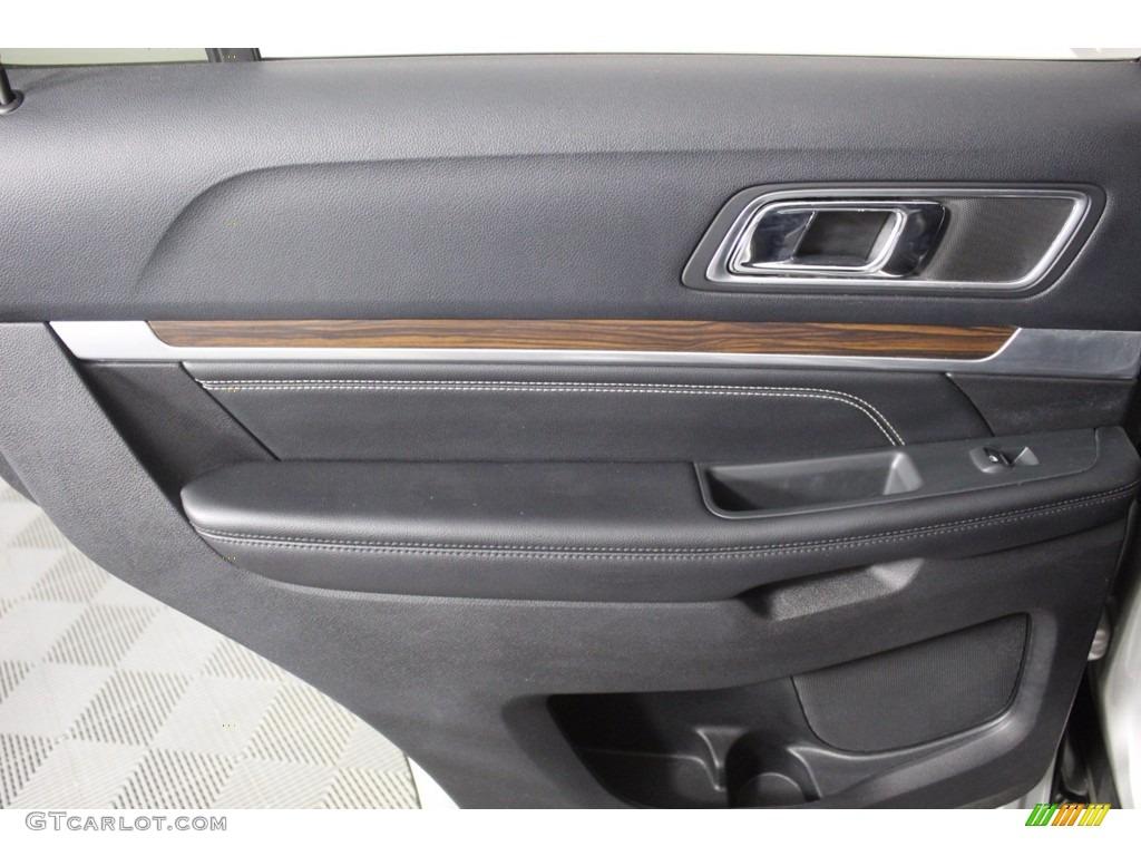 2016 Explorer Limited 4WD - Ingot Silver Metallic / Ebony Black photo #27