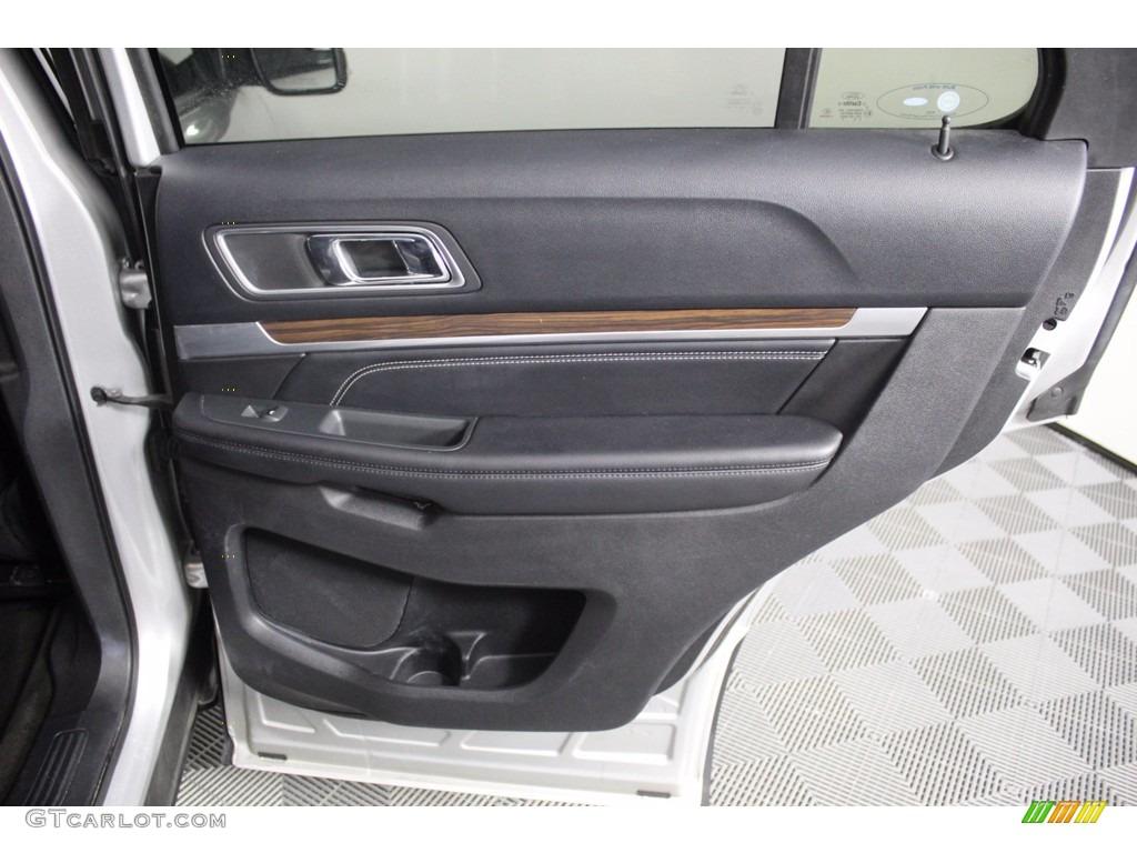 2016 Explorer Limited 4WD - Ingot Silver Metallic / Ebony Black photo #32