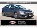 2018 Modern Steel Metallic Honda Civic EX Sedan #140028075