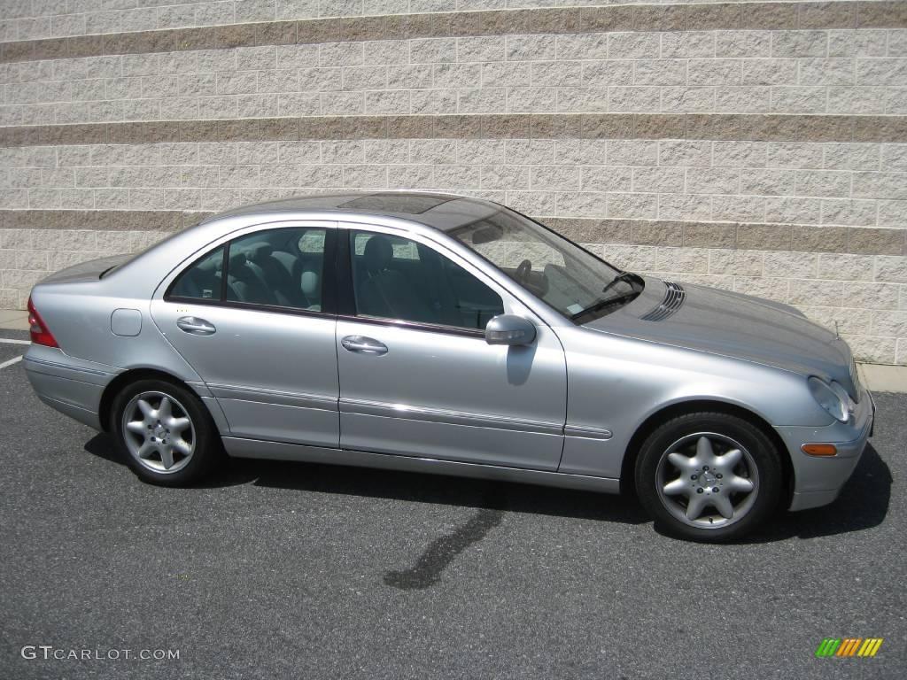 2004 brilliant silver metallic mercedes benz c 240 4matic for Mercedes benz c 240