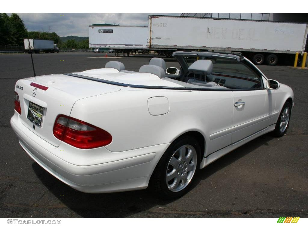 2003 alabaster white mercedes benz clk 320 cabriolet for 2003 mercedes benz clk 320