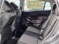 2021 Subaru Impreza Black Interior Rear Seat Photo