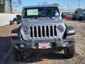2021 Billet Silver Metallic Jeep Wrangler Unlimited Sport 4x4  photo #2