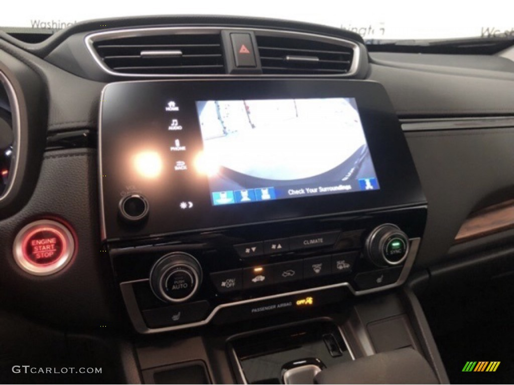 2020 CR-V EX AWD - Crystal Black Pearl / Black photo #12