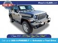 2021 Billet Silver Metallic Jeep Wrangler Unlimited Sport 4x4 #140074308