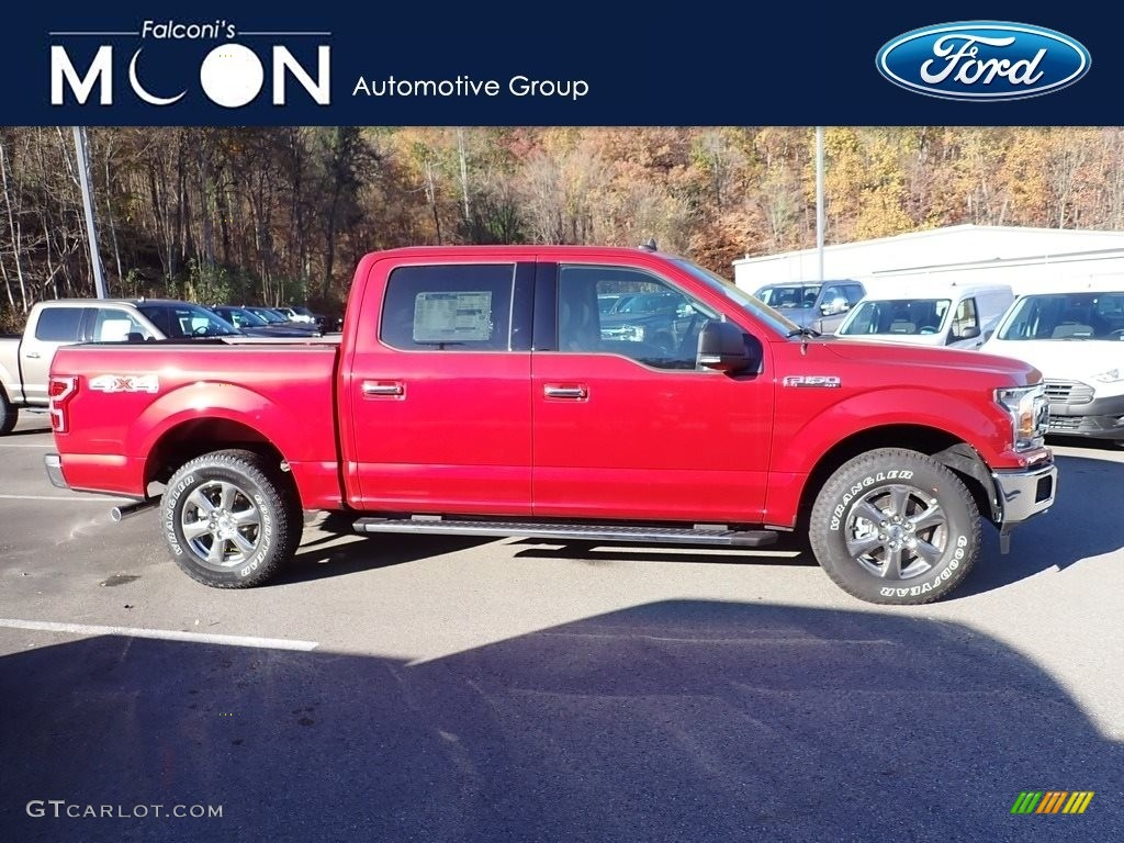 Rapid Red Ford F150