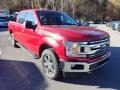 2020 Rapid Red Ford F150 XLT SuperCrew 4x4  photo #3