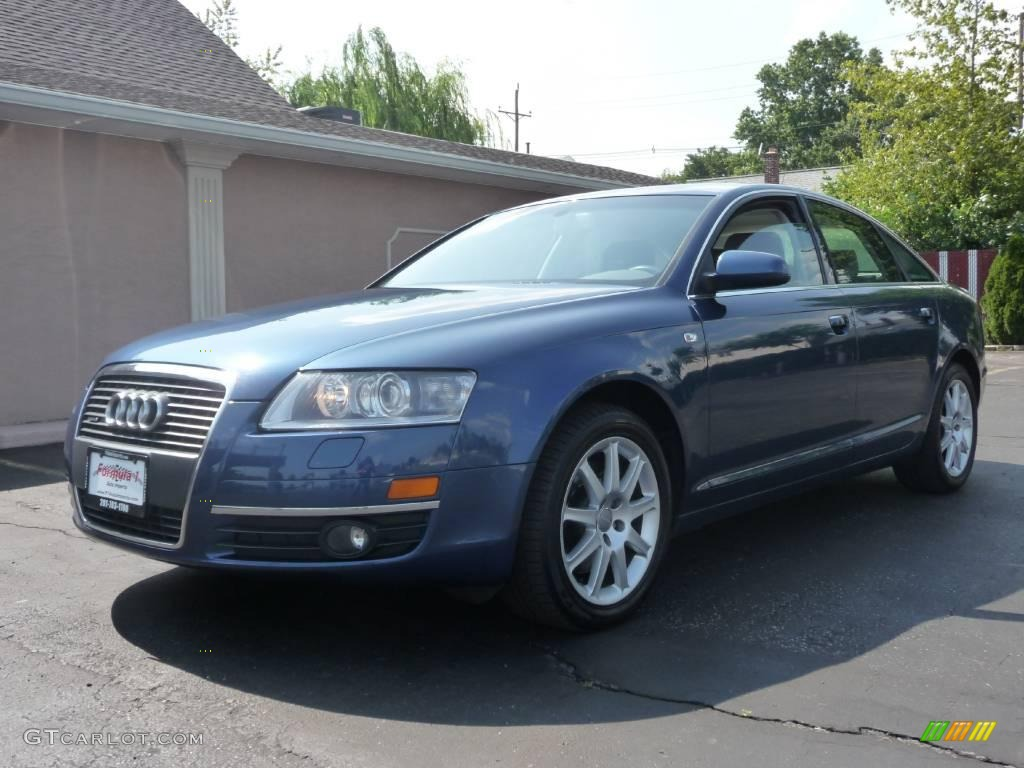 2005 stratos blue pearl effect audi a6 3 2 quattro sedan 13937187 car color. Black Bedroom Furniture Sets. Home Design Ideas