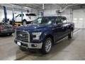 2017 Blue Jeans Ford F150 XLT SuperCrew 4x4 #140088155
