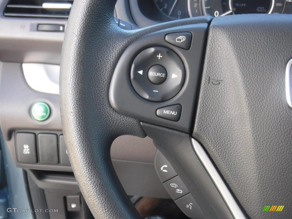 2014 CR-V EX AWD - Mountain Air Metallic / Beige photo #5