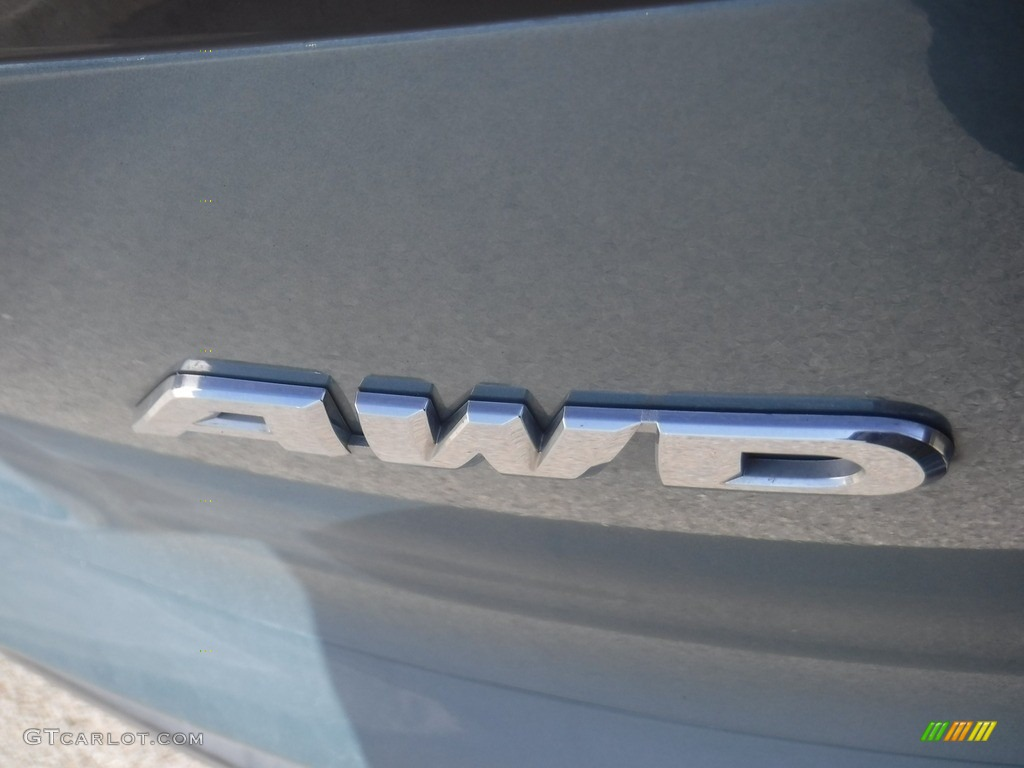 2014 CR-V EX AWD - Mountain Air Metallic / Beige photo #14