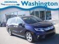 Obsidian Blue Pearl 2019 Honda Odyssey EX