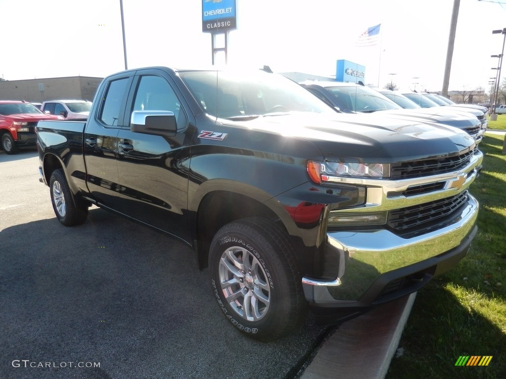 2021 Silverado 1500 LT Double Cab 4x4 - Black / Jet Black photo #3