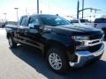 2021 Black Chevrolet Silverado 1500 LT Double Cab 4x4  photo #3