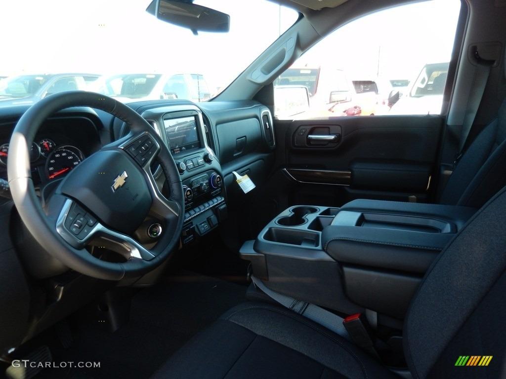 2021 Silverado 1500 LT Double Cab 4x4 - Black / Jet Black photo #7
