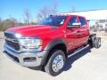 Flame Red 2020 Ram 5500 Tradesman Crew Cab 4x4 Chassis